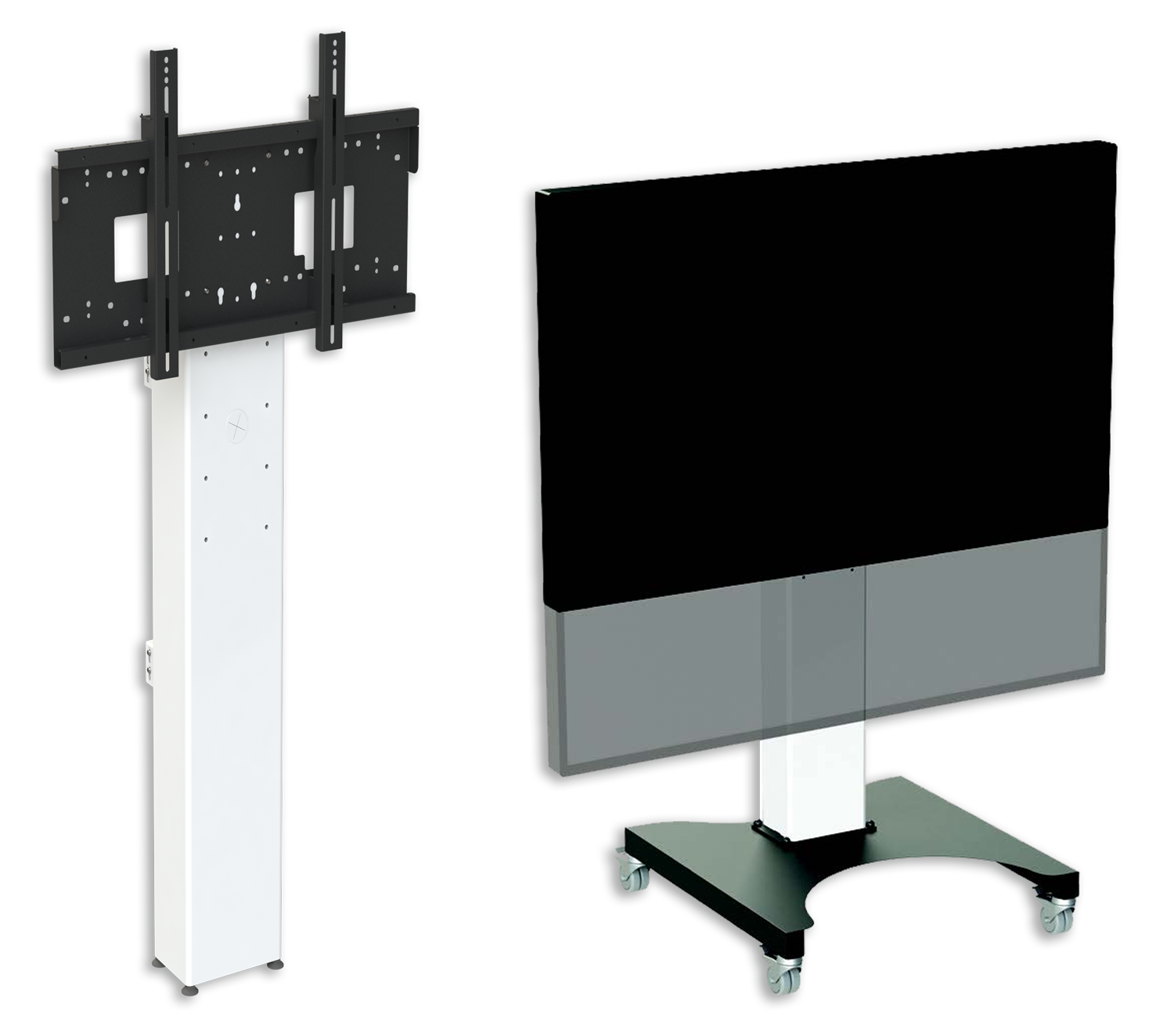 MimioDisplay trolleys and mounts